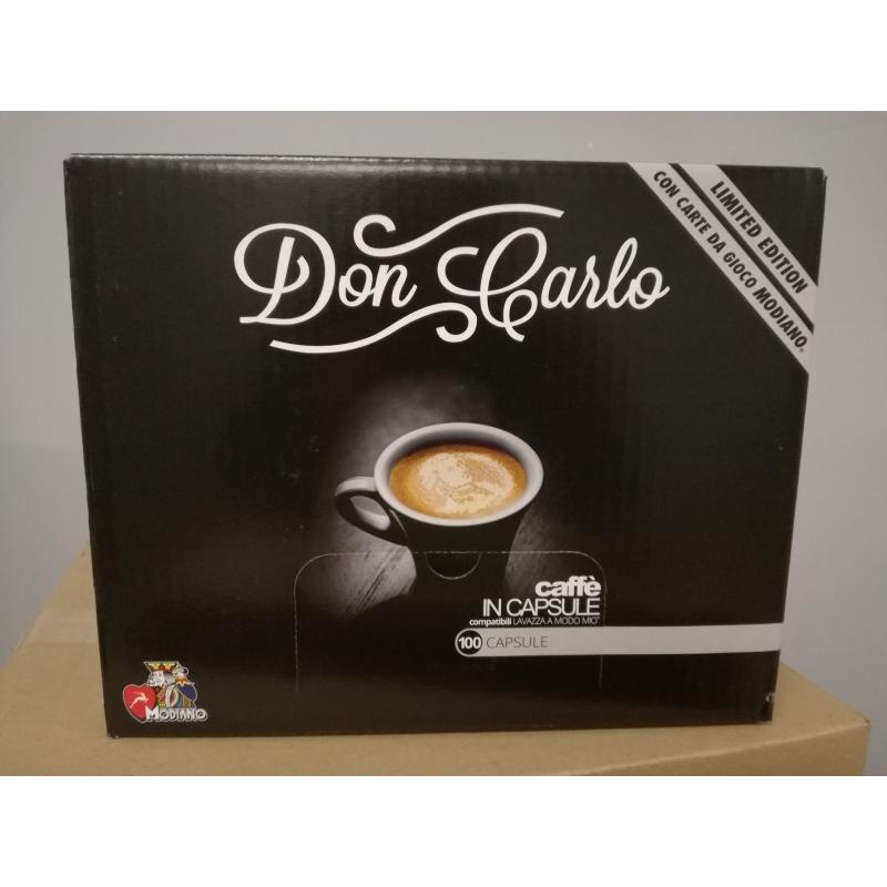 Kohvikapslid Caffè Borbone Rossa Don Carlo  (100 tk) Lavazza A Modo Mio tüüp