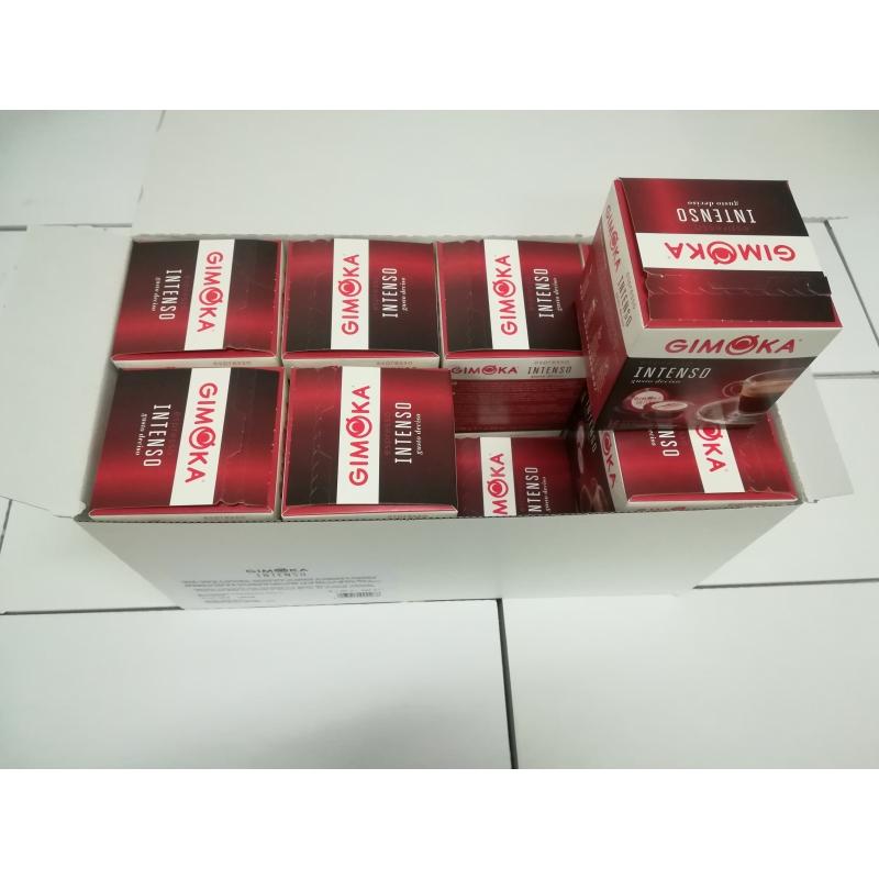 GIGAPAKK Kohvikapslid GIMOKA Intenso 100% araabika (256 tk) Lavazza A Modo Mio tüüp