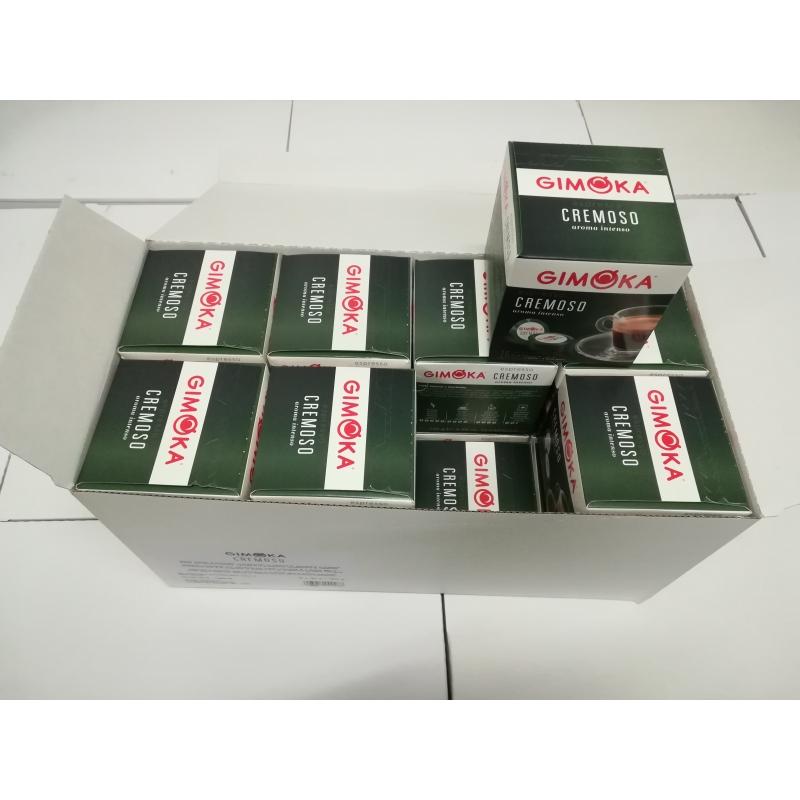 GIGAPAKK Kohvikapslid GIMOKA Cremoso 100% araabika (256 tk) Lavazza A Modo Mio tüüp