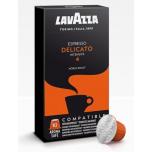 Kohvikapslid LAVAZZA Delicato (10 tk) Nespresso tüüp