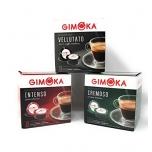 Kohvikapslid GIMOKA proovipakk                      Vellutato (48 tk) + Intenso (48 tk) + Cremoso (48 tk) Lavazza A Modo Mio tüüp