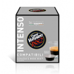 Kohvikapslid CAFFE VERGNANO INTENSO (16 tk) LAVAZZA A Modo Mio tüüp