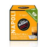Kohvikapslid CAFFE VERGNANO NAPOLI (16 tk) LAVAZZA A Modo Mio tüüp BIOLAGUNEVAD