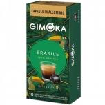 Kohvikapslid GIMOKA Brasile (10 tk) Nespresso tüüp